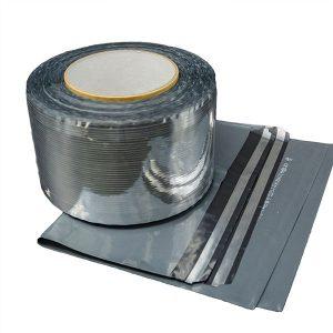 Aluminum Bobbins Courier Bag Sealing Tape