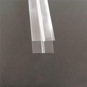 Transparent Plastic Bag Zipper